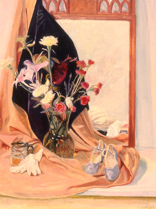 Flowers, Shoes and Gloves
