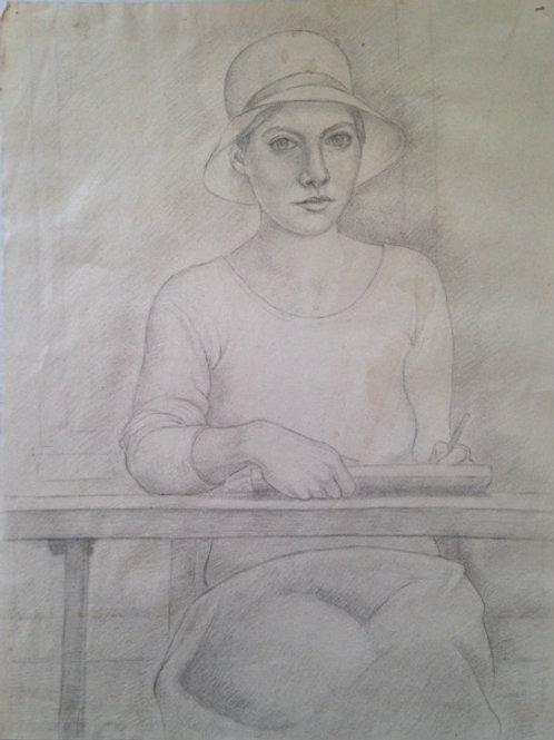 Early Self Portrait
