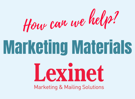 Lexinet Capabilities: Marketing Materials