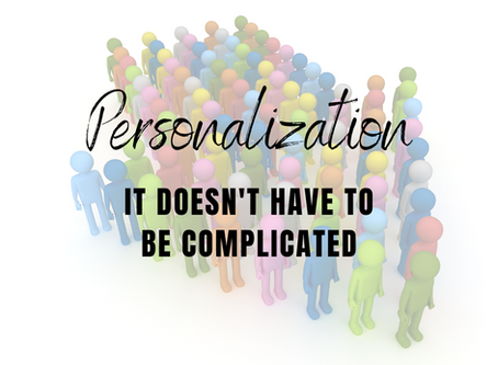 5 Ways to Personalize Marketing