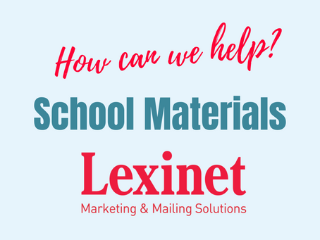 Lexinet Capabilities: School Materials