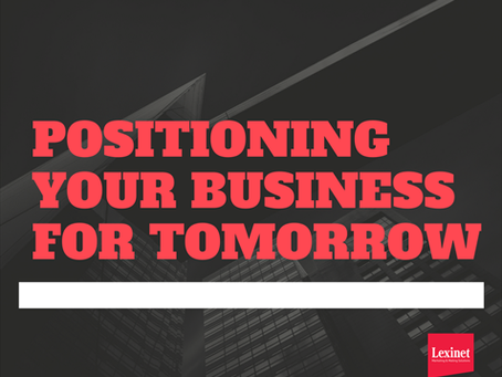 Positioning Your Business for Tomorrow
