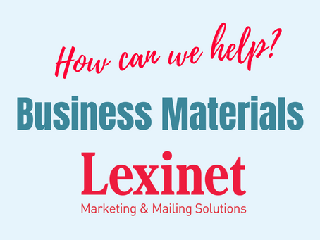 Lexinet Capabilities: Business Materials