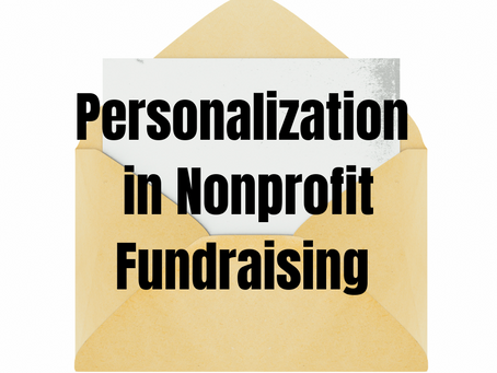 Personalize Fundraising Marketing