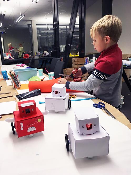 Lag en robot (8-10 år) Tirsdager