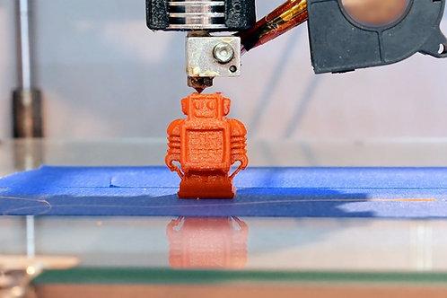 3D-printing for ekte oppfinnere! (10-14 år) Mandager