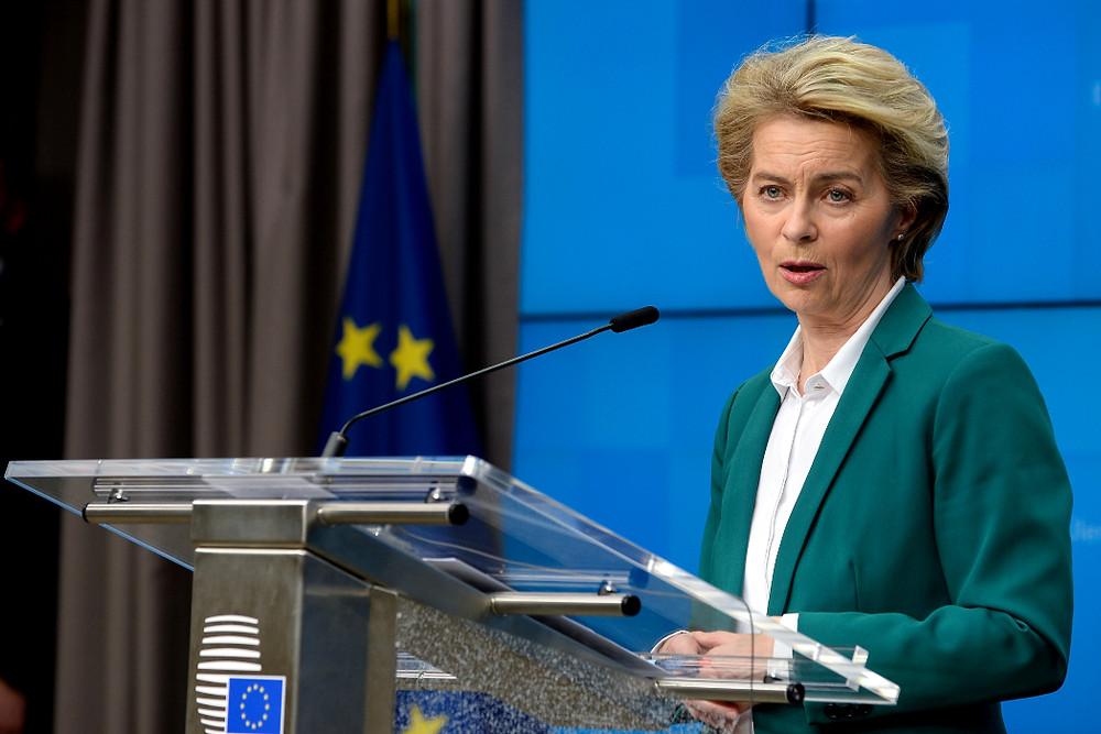 Przewodnicząca Komisji Europejskiej ogłosiła dziś konieczność debaty nad zamknięciem granic
