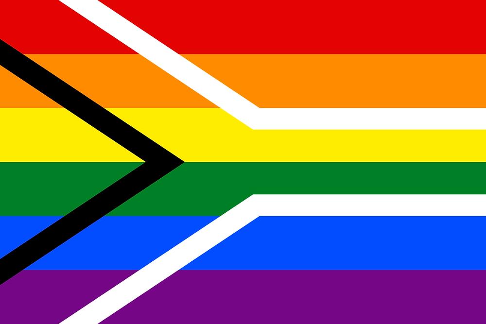 gay flag south africa lgbtqi