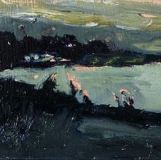 Night View Toward Denman
