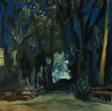 Maddison Lane, Winter Night
