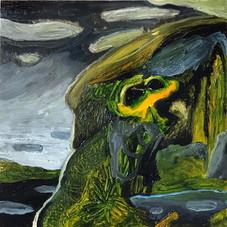Untitled (alien frogman)