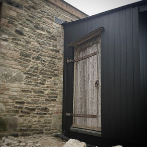 STONE AND TIMBER CLADDING