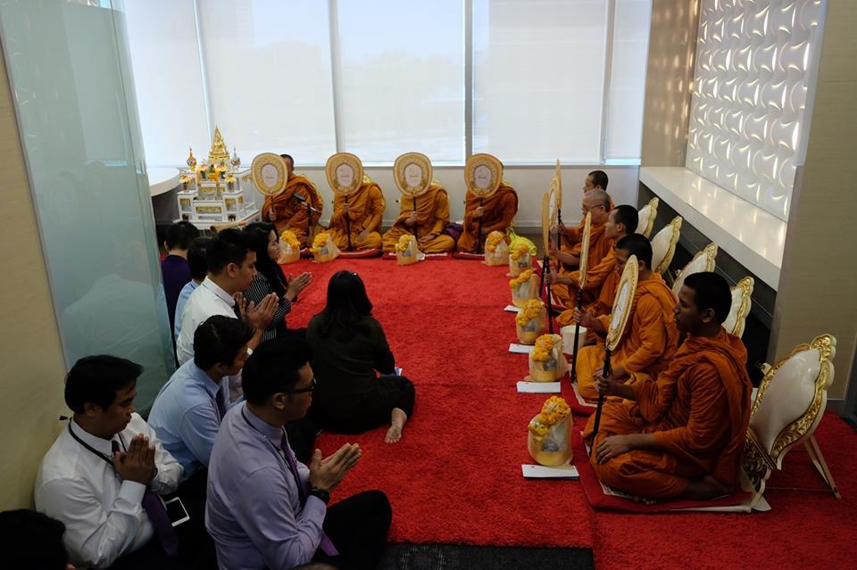 ทำบุญบริษัท ธนาคารไทยพาณิชย์13