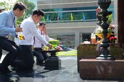 ทำบุญบริษัท ธนาคารไทยพาณิชย์15