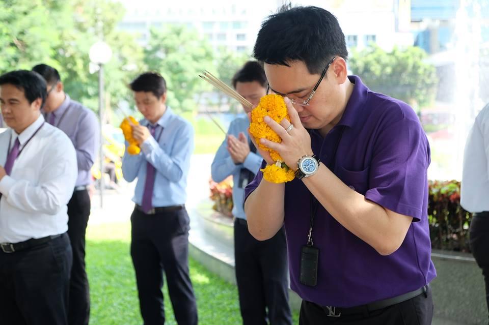 ทำบุญบริษัท ธนาคารไทยพาณิชย์5