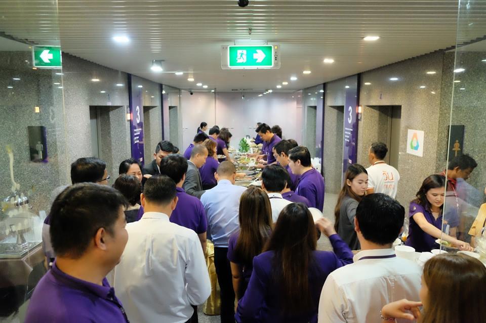 ทำบุญบริษัท ธนาคารไทยพาณิชย์18