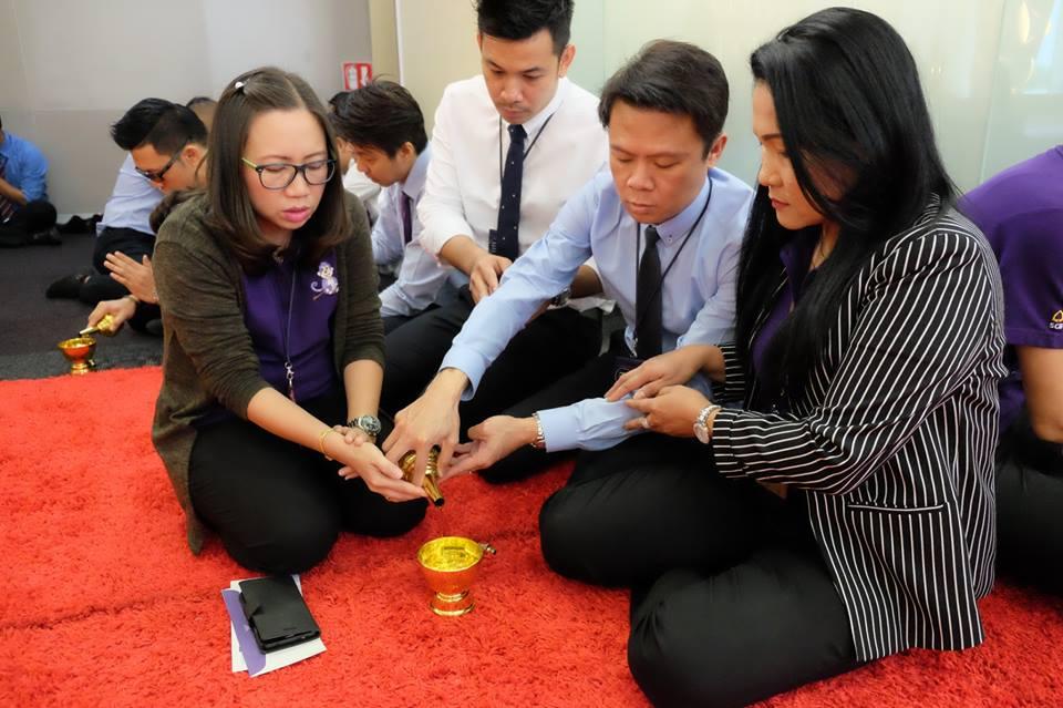 ทำบุญบริษัท ธนาคารไทยพาณิชย์20