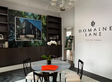 DOMAINE LANE SALES SUITE NOW OPEN