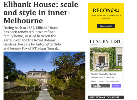 elibank house featured on several websites this week