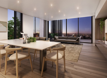 DOMAINE LANE DRAWS LOCAL BUYER INTEREST, SECURING PENTHOUSE SALE