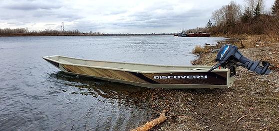 Лодка Дискавери шитик