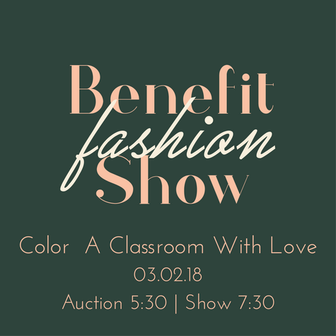 Benefit Charity Fashion Show