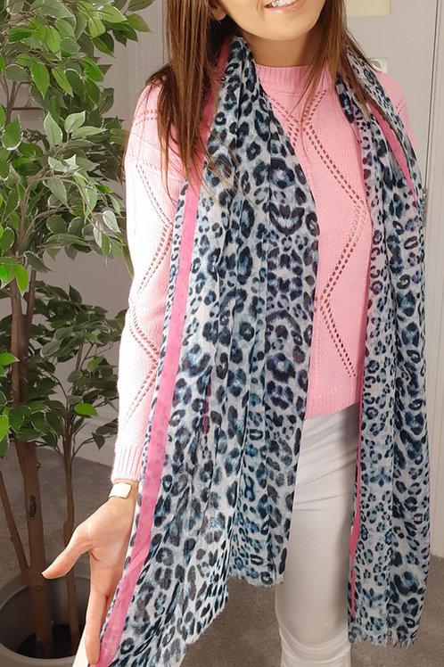 Leopard Stripe Scarf