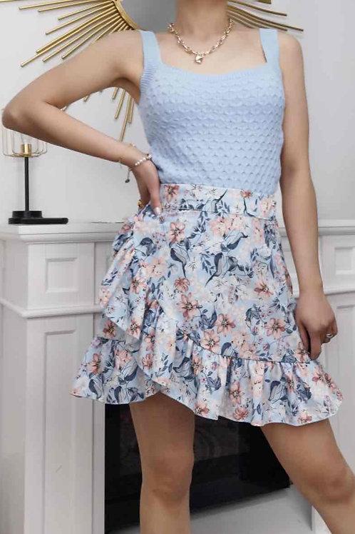 Evelyn Wrap Skirt
