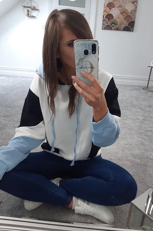 Gemma Colour Block Hoodie