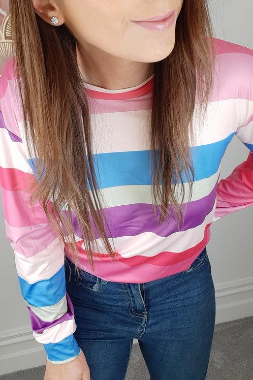 Ava Stripe Top