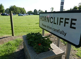 Horncliffe village sign