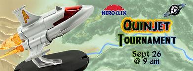 Galactic Greg's, Galacti-Con, HeroClix, QuinJet, Quin Jet, Tournament