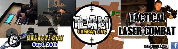 Galactic Greg's, Galacti-Con, Tactical Laser Combat
