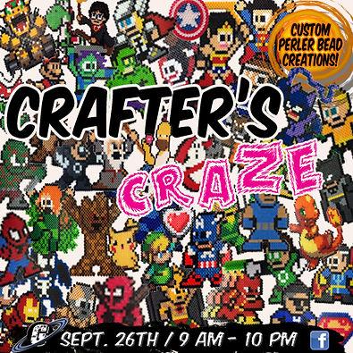 Galactic Greg's, Galacti-Con, Perler Bead Creations!