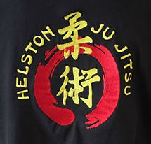 Helston Ju Jitsu Club Embroidered Gi