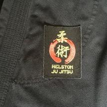 Helston Ju Jitsu Club Embroidered Badge