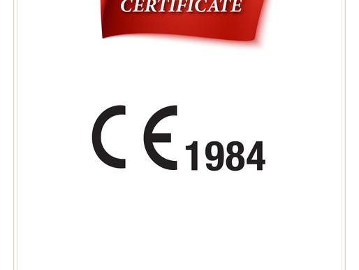 CE Belgesi - CE Certificate