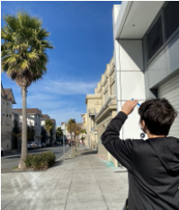 Middle Schoolers Exploring the Tree Population of San Francisco