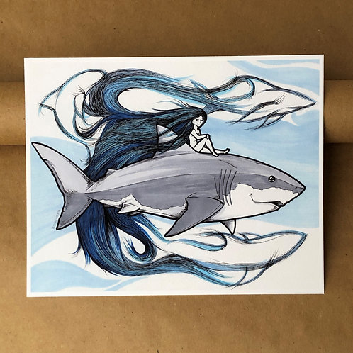 Print - Ocean Maiden