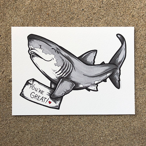 5x7 Print - You're Great! (v1)