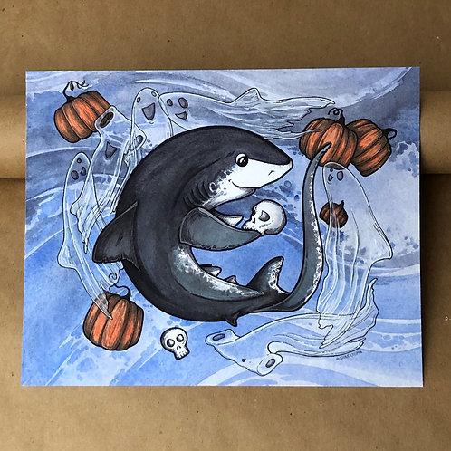 Print - Spooky Thresher
