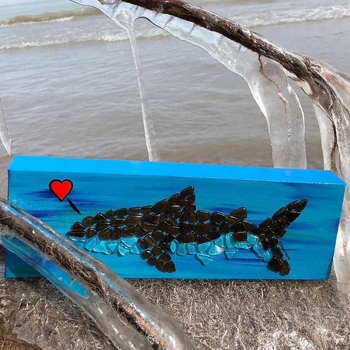 Original Sea Glass Shark