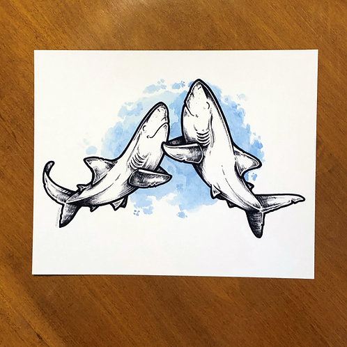 Print - Happy Couple