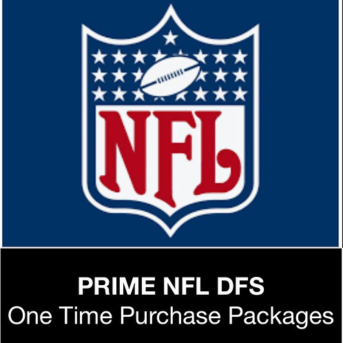PRIME NFL DFS Package (Daily,Weekly,Monthly,Season)