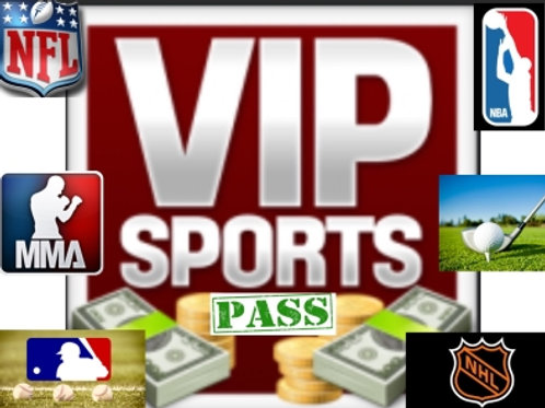 1 Month Only - The Prime VIP All Sport MONTH Pass (Daily,Weekly, Monthly)