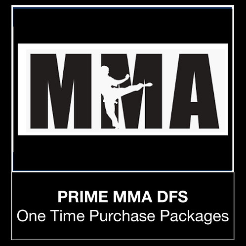PRIME MMA DFS Package (Daily,Weekly,Monthly)