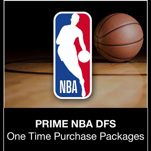 PRIME NBA DFS Package (Daily,Weekly,Monthly,Season)