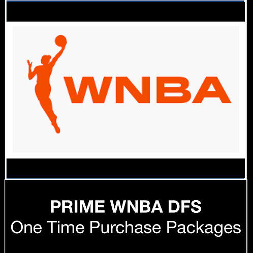 PRIME WNBA DFS Package (Daily,Weekly,Monthly,Season)