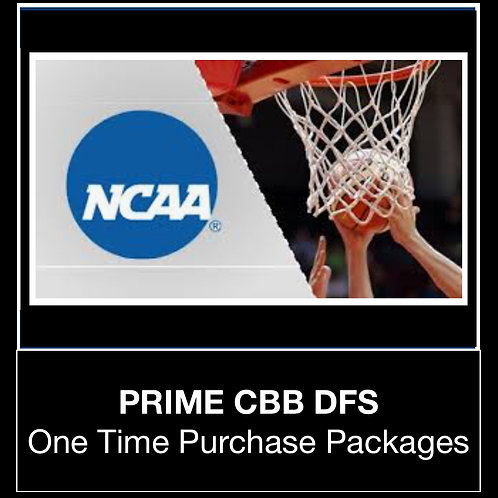 PRIME CBB DFS Package (Daily,Weekly,Monthly,Season)