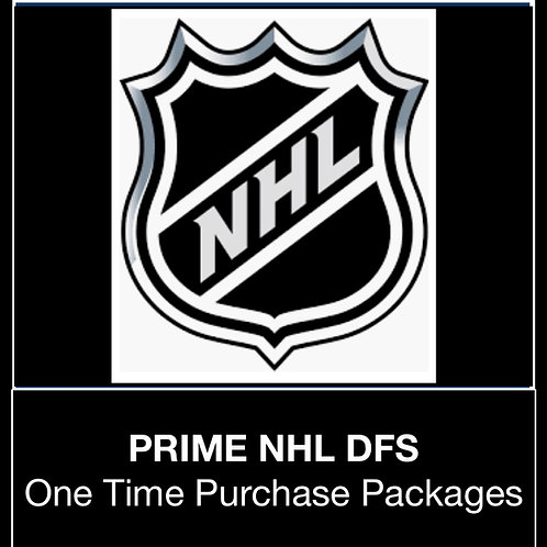 PRIME NHL DFS Package (Daily,Weekly,Monthly,Season)